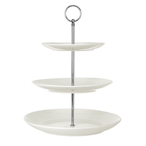 Buy House by John Lewis 3 Tier Cake Stand Online at johnlewis.com