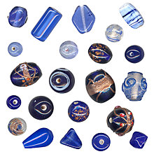 Buy John Lewis Glass Bead Mix, 100g Online at johnlewis.com