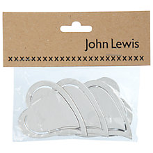 Buy Large Curvy Heart Craft Mirrors Online at johnlewis.com