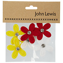 Buy Felt and Diamante Craft Flowers Online at johnlewis.com