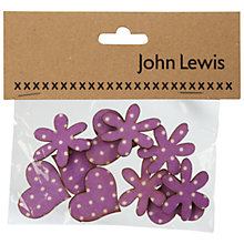 Buy John Lewis Polka Dot Hearts And Flowers Online at johnlewis.com