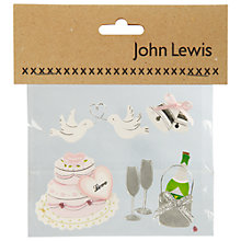 Buy Wedding Cake Card Toppers Online at johnlewis.com