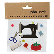 Buy Sewing Kit Card Toppers Online at johnlewis.com