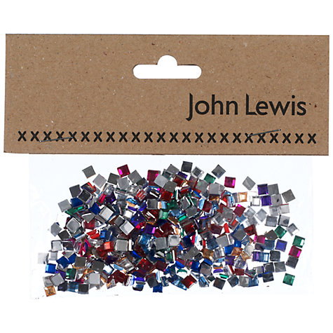 Buy John Lewis Square Jewels, Multi Online at johnlewis.com