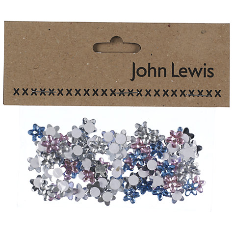 Buy John Lewis Mirrored Flowers, Pack of 90 Online at johnlewis.com