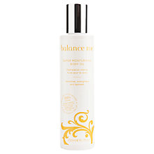 Buy Balance Me Super Moisturising Body Oil, 200ml Online at johnlewis.com