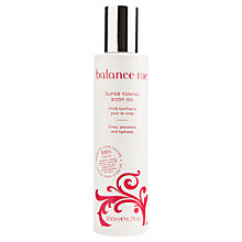 Buy Balance Me Super Toning Oil, 200ml Online at johnlewis.com
