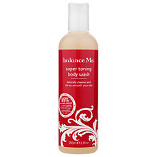 Buy Balance Me Super Toning Body Wash, 260ml Online at johnlewis.com