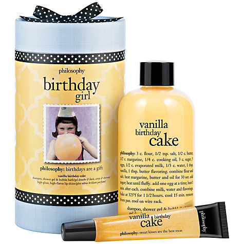 Buy Philosophy Birthday Girl Beauty Gift Set Online at johnlewis.com
