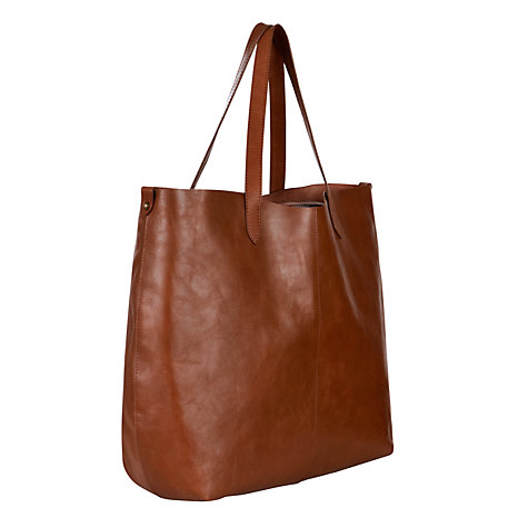 Buy Collection WEEKEND by John Lewis Large Raw Tote Handbag Online at johnlewis.com