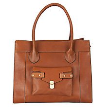 Buy COLLECTION by John Lewis Shenie Leather Large Zip Top Shoulder Handbag Online at johnlewis.com