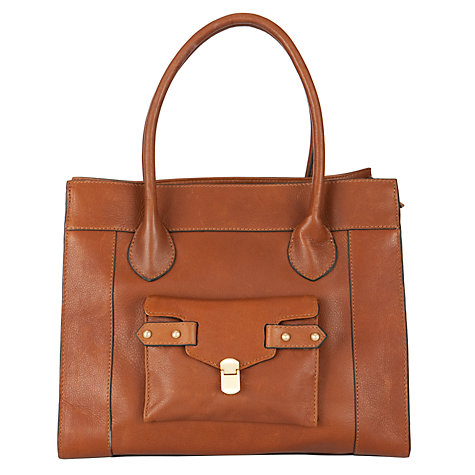Buy COLLECTION by John Lewis Shenie Leather Large Zip Top Shoulder Bag Online at johnlewis.com