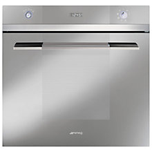 Buy Smeg SFP109S Single Electric Oven, Silver Glass Online at johnlewis.com