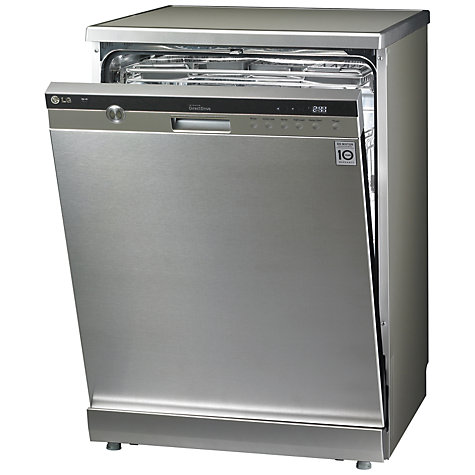 Buy LG D1454TF Dishwasher, Stainless Steel Online at johnlewis.com