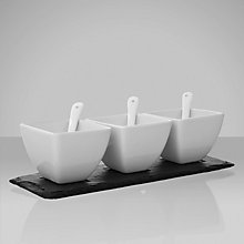 Buy Just Slate Condiment Pots Online at johnlewis.com