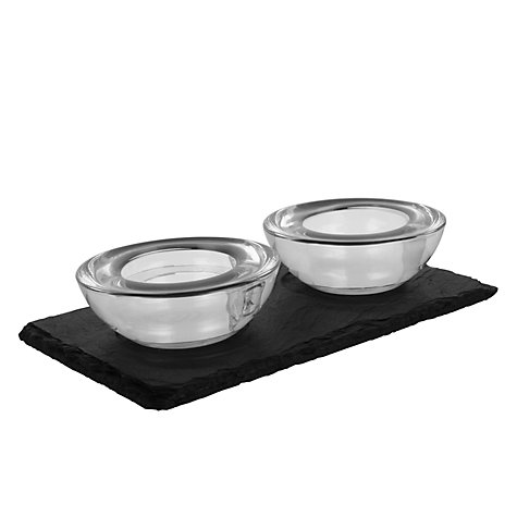 Buy Just Slate Pinch Pots Online at johnlewis.com