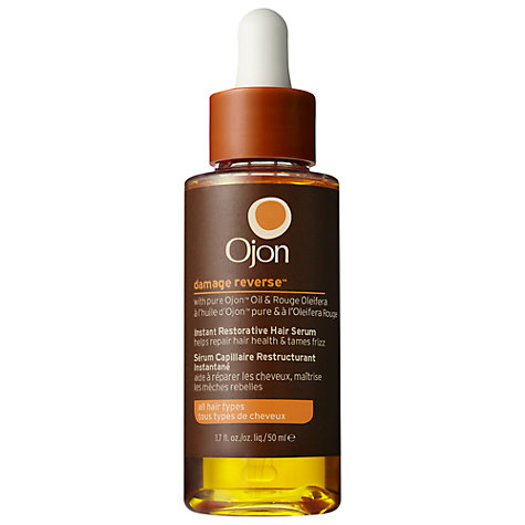 Buy Ojon® Damage Reverse™ Instant Restorative Hair Serum, 50ml Online at johnlewis.com