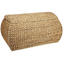 Buy John Lewis Water Hyacinth Trunk and Basket 3 Piece Set Online at johnlewis.com