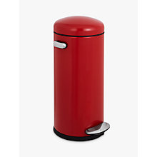 Buy simplehuman Retro Round Pedal Bin, 30L Online at johnlewis.com