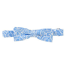 Buy Penrose London Catalpa Bow Tie, Blue Online at johnlewis.com