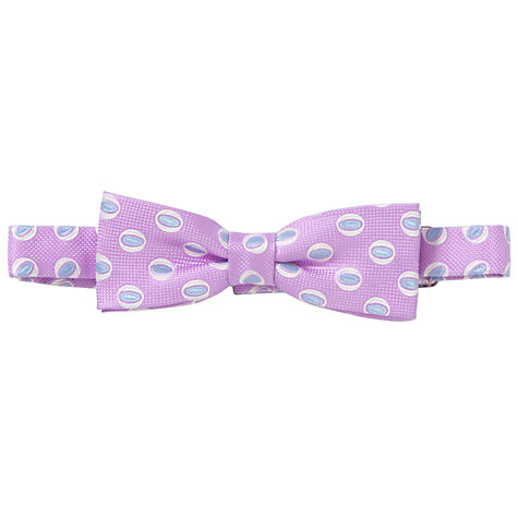 Buy Penrose London Elm Bow Tie, Pink Online at johnlewis.com