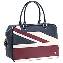 Buy Ben Sherman Union Jack Holdall, Navy Online at johnlewis.com