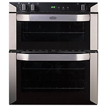 Buy Belling BI70FP Double Built-Under Electric Oven, Stainless Steel Online at johnlewis.com