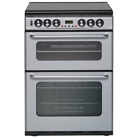 Buy New World DF600TSIDOM Dual Fuel Cooker, Silver Online at johnlewis.com