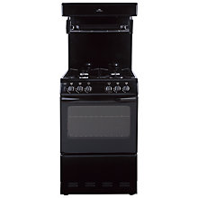 Buy New World 55THLG Gas Cooker, Black Online at johnlewis.com