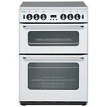 Buy New World 600TSIDOM Gas Cooker, White Online at johnlewis.com