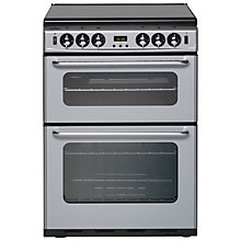 Buy New World 600TSIDOM Gas Cooker, Silver Online at johnlewis.com