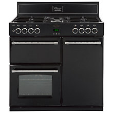 Buy Belling Classic 90DFT Dual Fuel Range Cooker, Black Online at johnlewis.com