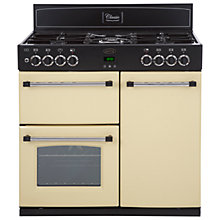 Buy Belling Classic 90DFT Dual Fuel Range Cooker, Cream Online at johnlewis.com