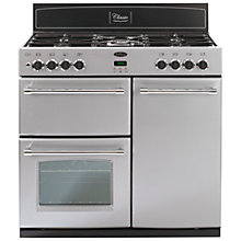 Buy Belling Classic 90DFT Dual Fuel Range Cooker, Silver Online at johnlewis.com