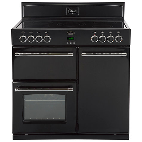 Buy Belling Classic 90E Electric Range Cooker, Black Online at johnlewis.com