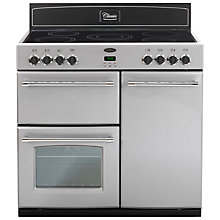 Buy Belling Classic 90E Electric Range Cooker, Silver Online at johnlewis.com
