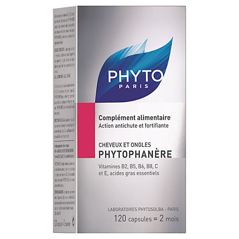 Buy Phyto Phytophanere Dietary Supplement, 120 capsules Online at johnlewis.com