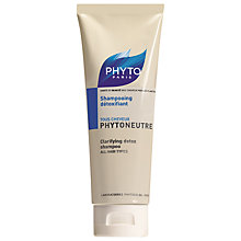 Buy Phyto Phytoneutre Clarifying Detox Shampoo, 125ml Online at johnlewis.com