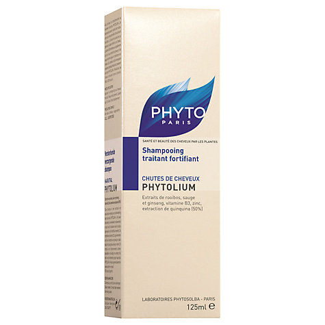 Buy Phyto Phytolium Strengthening Shampoo, 125ml Online at johnlewis.com