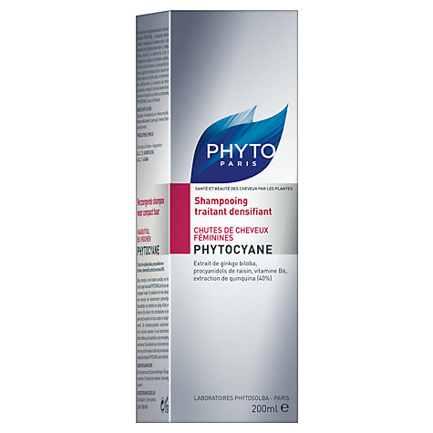 Buy Phyto Phytocyane Densifying Treatment Shampoo for Thinning Hair, 200ml Online at johnlewis.com