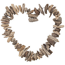 Buy John Lewis Driftwood Heart Online at johnlewis.com