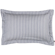Buy Gant White Stripe Oxford Pillowcase, White Online at johnlewis.com