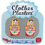 Jennie Maizels Clothes Plasters, Russian Doll, 1 Pair