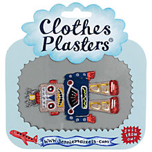Buy Jennie Maizels Clothes Plasters, Robot, Pack of 1 Online at johnlewis.com