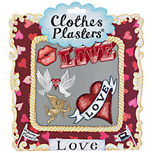 Buy Jennie Maizels Clothes Plasters, Love, Set of 5 Online at johnlewis.com