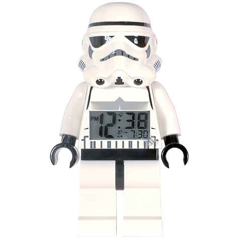 Buy LEGO Star Wars Stormtrooper Alarm Clock Online at johnlewis.com