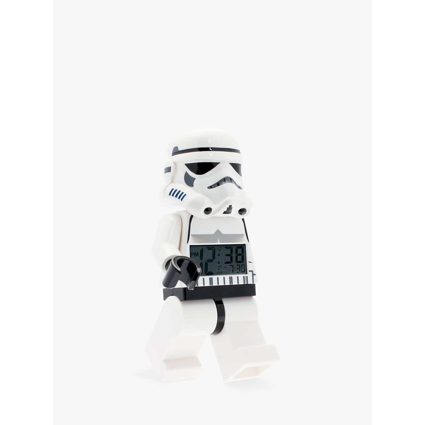 Buy Lego Star Wars Stormtrooper Alarm Clock John Lewis Girls Bedroom Clock festivales.us