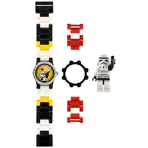 Buy LEGO Star Wars Stormtrooper Watch, Multi Online at johnlewis.com