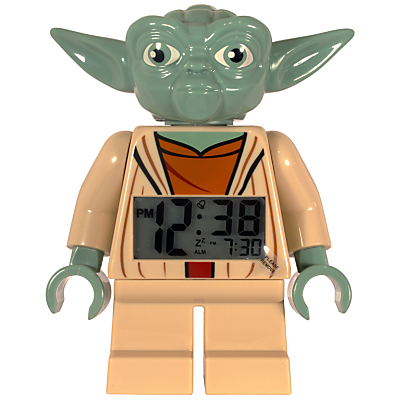 LEGO Star Wars Yoda Alarm Clock