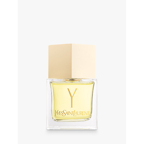 Buy Yves Saint Laurent Y Eau de Toilette Natural Spray, 80ml Online at johnlewis.com